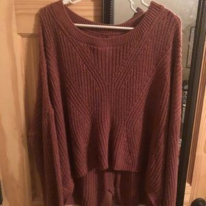 Express oversized slouchy sweater